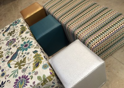 Pattern Benches & Ottomans