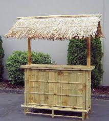 Tiki Bar- Also available in white