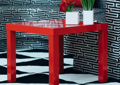Low Square Tables- Also available in Black